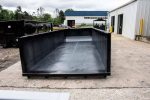 black dewatering basket for roll-off dewatering container